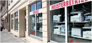 Ladengeschäft Office Masertec Büromaschinen Tsompanidis Orleansstr