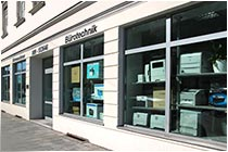 Ladengeschät Orleansstraße Office Mastertec Tsompanidis Büromaschinen